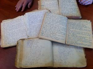 3 handwritten bibles